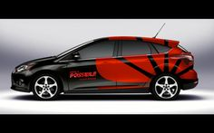 Huawei Corporate Car Branding by Piotr Tobiasz Kozlowski, via Behance