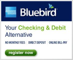 FREE Bluebird Amex card! Perfect for freebies that ask credit card Info!