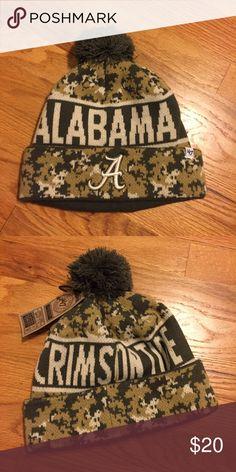 NWT Alabama Crimson Tide Camouflage Beanie Brand-new University of Alabama beanie. Roll tide! 🏈 47 Accessories Hats
