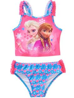 Disn/éy Frozen Printed Two Pieces Bathing Suit