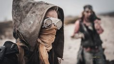 Zone Rats Larp / dystopian female / wasteland cosplay for women / costume / LARP / post apocalyptic