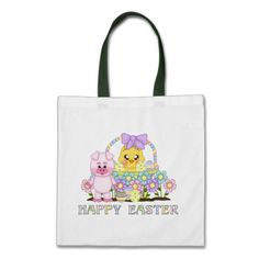 Easter Friends Holiday tote bag