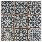 Merola Tile, Faenza Nero 13 in. x 13 in. Ceramic Floor and Wall Tile (12.2 sq. ft. / case), FPEFAEN at The Home Depot - Mobile