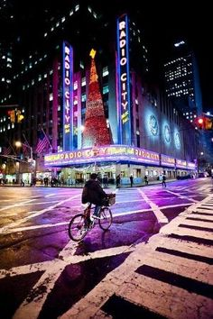 Radio City Music Hall located in Rockefeller Center, New York City, NY, USA. It's nickname is Showplace of the Nation, and it was for a time the leading tourist destination in the city. Its interior was declared a city landmark in 1978.