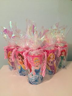 Disney Princess Party Favors by SIMPLE2PARTY on Etsy
