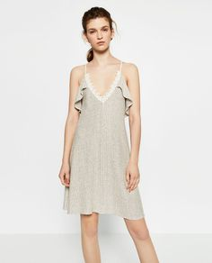 FRILLED DRESS-View all-WOMAN-NEW IN | ZARA United States