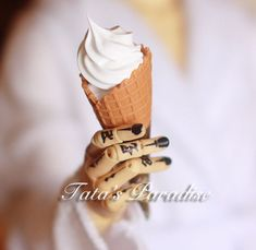 BJD vanilla ice cream cone - Taobao Vanilla Ice Cream, Ball Jointed Dolls, Bjd
