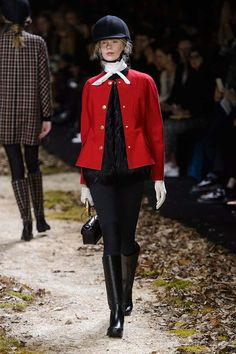 Moncler Gamme Rouge #PFW Fall/Winter 2015/2016 www.so-sophisticated.com