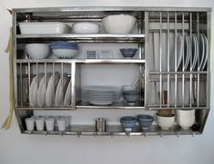 Way Too Expensive: Wall Hanging Deluxe 10 26 Stainless Dish Rack   Collects  Water On The Bottom.