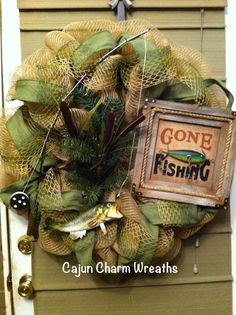 Image result for fishing themed funeral arrangement