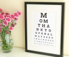39 creative diy gifts to make for mom creative photos bath ideas diy personalized eye chart mothers day gift tutorial from homemade gifts made solutioingenieria Image collections