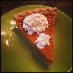 Mmm welcome fall with pumpkin pie and whipped cream!! #fall #pumpkin #pumpkinseason #cafe #coffeeshop #orlando Photo credit to Alison Olivia Frederick
