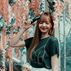 Kpop Girl Groups, Korean Girl Groups, Kpop Girls, Lisa Black Pink, Black Pink Kpop, Blackpink Lisa, Blackpink Jennie, Imagenes Dark, Blackpink Icons
