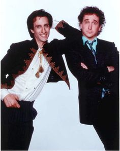 Balki and the other guy.  Who cares what his name was.  Who the hell had a name like Balki anyway? LOL