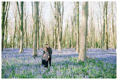 Bluebell scouting // That Light Though!!! - Wedding Photography Hampshire