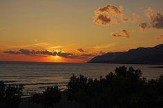 Sunset, Frangokastello, Sfakia