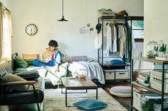 Small Room Bedroom, My Room, Bedroom Decor, Deco Studio, Studio Room, University Rooms, Room Interior, Interior Design, Tiny Apartments
