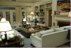 The Somethings Gotta Give living room-will always be a desired favorite. Especially that RUG!!! Uuuuugggghh.