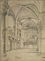 Interior of the Mariakerk in Utrecht Pieter Jansz. Saenredam