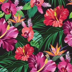 Cute Hawaiian print