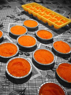 Bringing Home Baby; Homemade Baby Food Recipe – Orange Puree