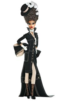 fabulous! - 'Pepper' Barbie designed by Byron Lars for Mattel, from his Chapeaux series