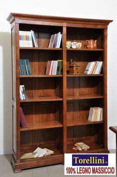 Libreria porta tv di grandi dimensioni costruita in stile for Mobili 800 italiano