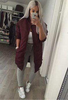 Bomber jacket outfit @KortenStEiN