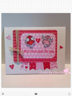 Anniversary card for Greg .               Lawn fawn science of love Valentine