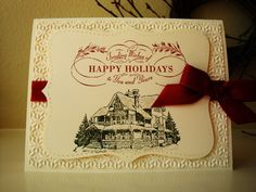 stampin up christmas lodge - Google Search