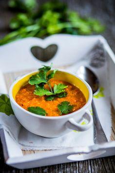 Věřte tomu, že tato mrkvová polévka mile potěší i mužskou část vaší rodiny!; David Háva