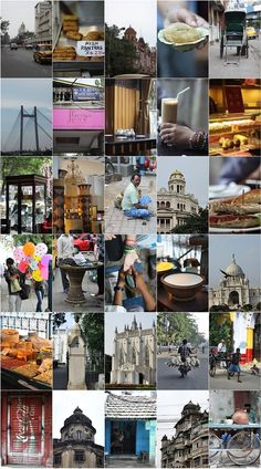 Calcutta Collage! Capturing the spirit of the city.
