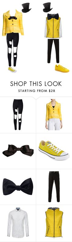 """bill cipher girl/boy"" by martinezcc on Polyvore featuring WithChic, ESCADA, Chanel, Converse, Ike Behar, Givenchy, Duvetica, adidas, men's fashion and menswear"