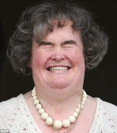 The wonderful Scottish lady with the beautiful voice....who put Simon Cowell in his place...HaHa