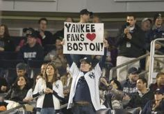 Rivalry was an afterthought Tuesday as the Yankees honored the City of Boston in the wake of the marathon bombings by playing the Red Sox's unofficial anthem Sweet Caroline after the third inning at Yankee Stadium. The popular sing-along song has been featured at Boston Red Sox home games since 2002.