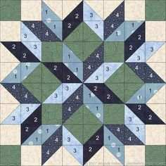 Billedresultat for carpenter's star quilt pattern king size Learn how to simplify the construction of this beautiful quilt block. No directions, just the picture. Mini Quilts, Big Block Quilts, Star Quilt Blocks, Star Quilts, 24 Blocks, Barn Quilt Designs, Barn Quilt Patterns, Pattern Blocks, Quilting Designs