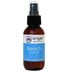Beach Refresher Spray by Angel Aromatics | Beach Angel Perfume - dive into summer with the Beach Angel perfume scent from Angel Aromatics.. The product link is http://www.angelaromatics.com.au/all/beach-angel-perfume