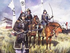 japanese military art | 1600. The most important and decisive battle in the history of Japan ...