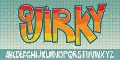 Quirky - Webfont & Desktop font « MyFonts
