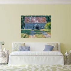 Do you want to remember when life was simpler? Playing outside until dark, having clubhouses, playing kick the can and your friends were all that mattered? Introducing my new collection of photography wall art reflecting rustic rural America. Take a look at this old rustic barn print and bring the simple life to your home. #rusticamerica #ruralamericaphotography #rusticbarnpicture