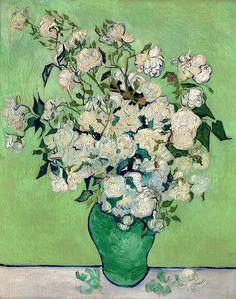 RosesVincent van Gogh (Dutch, Zundert 1853–1890 Auvers-sur-Oise)