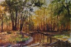 fall scene painting - Google Search