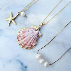 "e7f55857b94d GAYA ® on Instagram  ""Nostalgia de Mar 🏖 Link en Perfil ➡  mar  elmar  sea   seashell  star  starfish  estrellademar  estrella  perlas  perla  joyeria  ..."