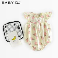 2色アイスロンパース | BABY DJ 子供服 出産祝い プレゼント キッズファッション ベビー服