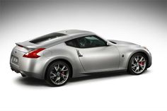Nissan 370Z Coupe Silver