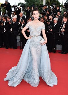 Li Bingbing en Zuhair Murad haute couture printemps-été 2015