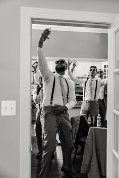 Want to see our full wedding album? Click and check! Follow us on Pinterest to see weekly updates! ❤︎  Groom Squad | Casual Miracles | Hilarious Groomsmen Photo Ideas| Wedding Day | Getting Ready | Black and White Photography | Precious Pics Production