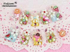 Japanese 3D Acrylic Glue on Nails - Yukiumi, Your Online Japanese Outlet for Hime & Kawaii Accessories