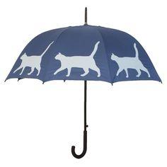 The SF Umbrella: Cat Silhouette from The San Francisco Umbrella Company
