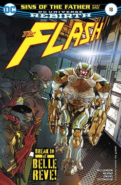 The creative team makes sure to deliver a worthwhile read and continue to develop the characters in meaningful ways. Amanda Waller, Andy Owens, Chris Sotomayor, dc, DC Comics, Flash, Flash #18, Jesus Merino, Joshua Williamson, Reverse Flash, review, Suicide Squad, the flash, The Flash #18, Wally West